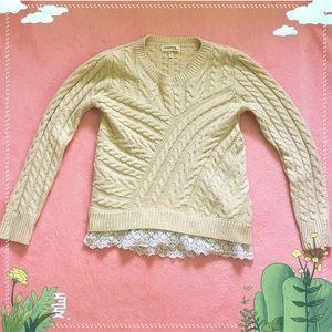 Small sweater